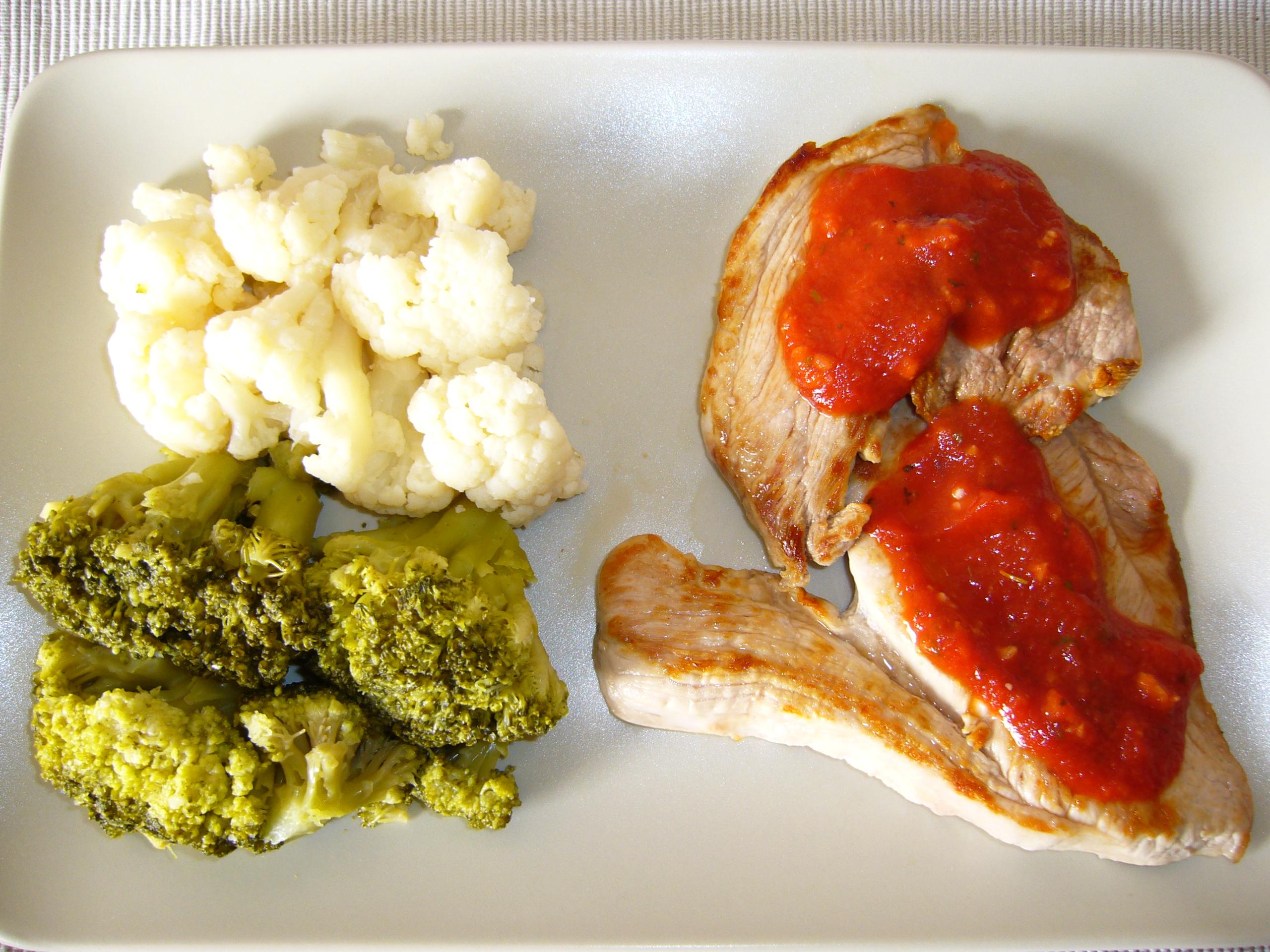 dukan ww chrono nutrition escalope de veau la sauce tomate. Black Bedroom Furniture Sets. Home Design Ideas