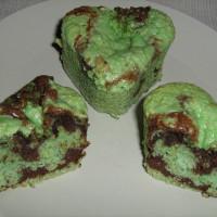 Nanettes pistache -chocolat