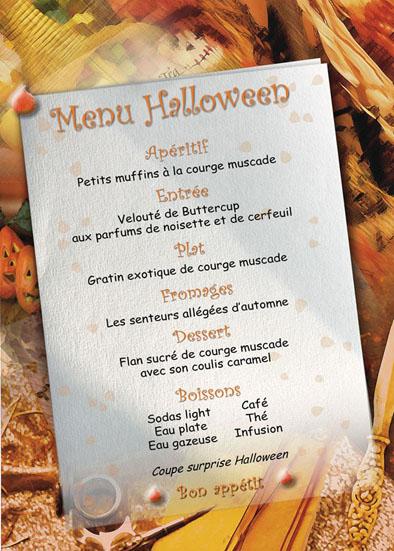 Recettes dukan menus halloween dukan - Idee menu halloween ...