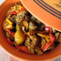 Sauté de veau aux légumes façon Tajine
